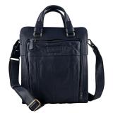 Kozna muska torba #664teget kozna torba, poslovna torba za dokumente, muske torbe za posao, akt tasne muske