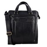 Akt tasna muska #665crna kozna torba, kozna muska torba, akt tasna muska, grass muske poslovne torbe, poslovna torba za dokumenta